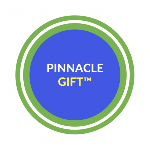 Pinnacle gift logo