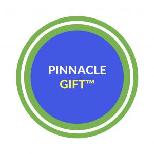 Pinnacle gift logo